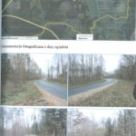 Droga dojazdowa do działek Węgorzewo gm. Sianów